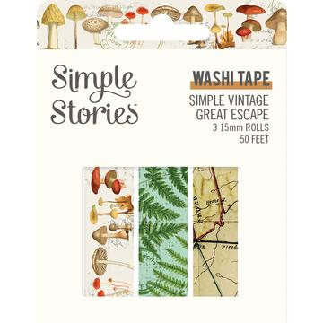 Simple Vintage Great Escape Collection - Washi Tape