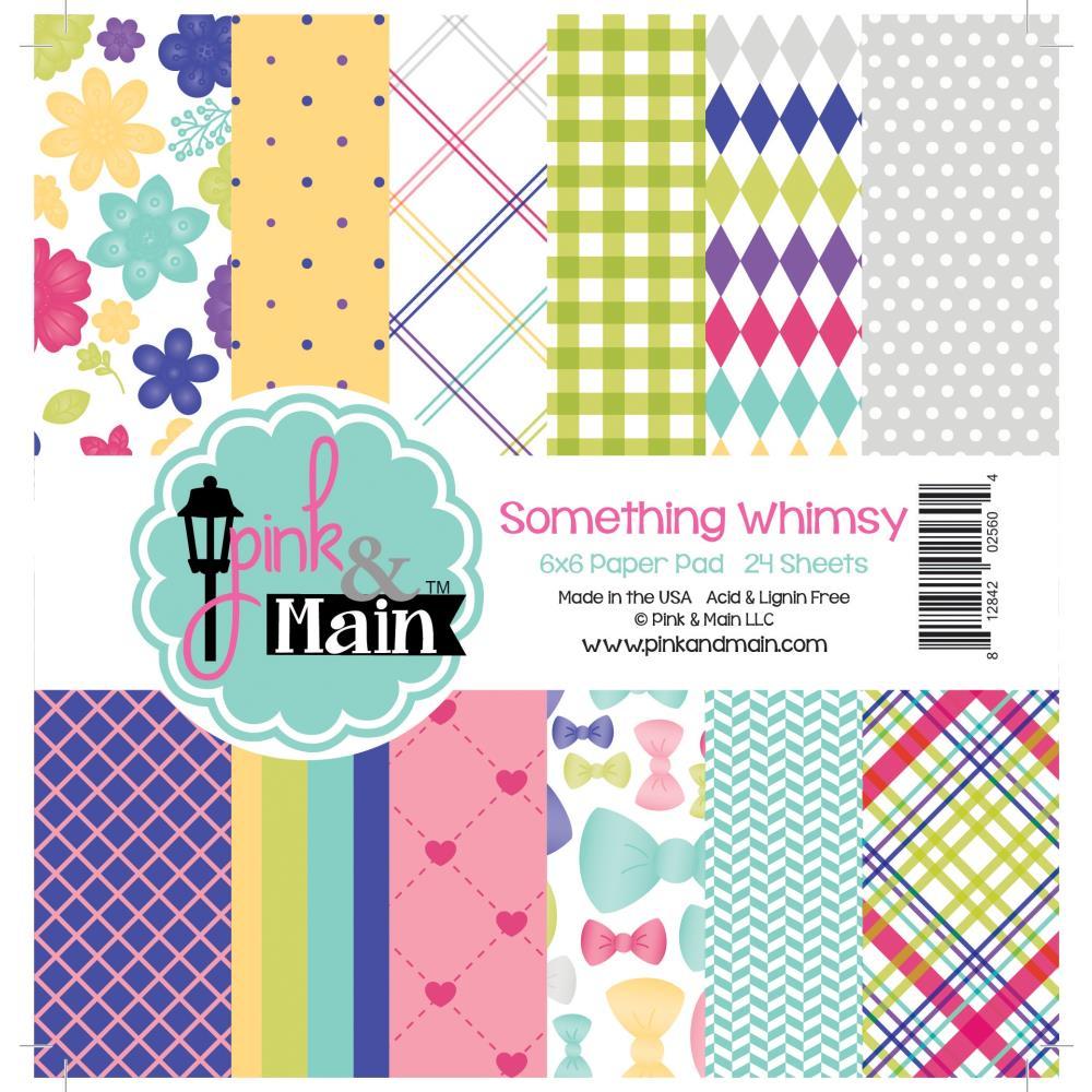 """מארז דפי קארדסטוק """"6 Something Whimsy Paper Pad"""