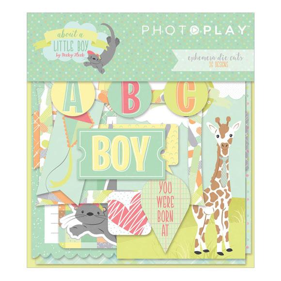 חיתוכי קארדסטוק - About a Little Boy