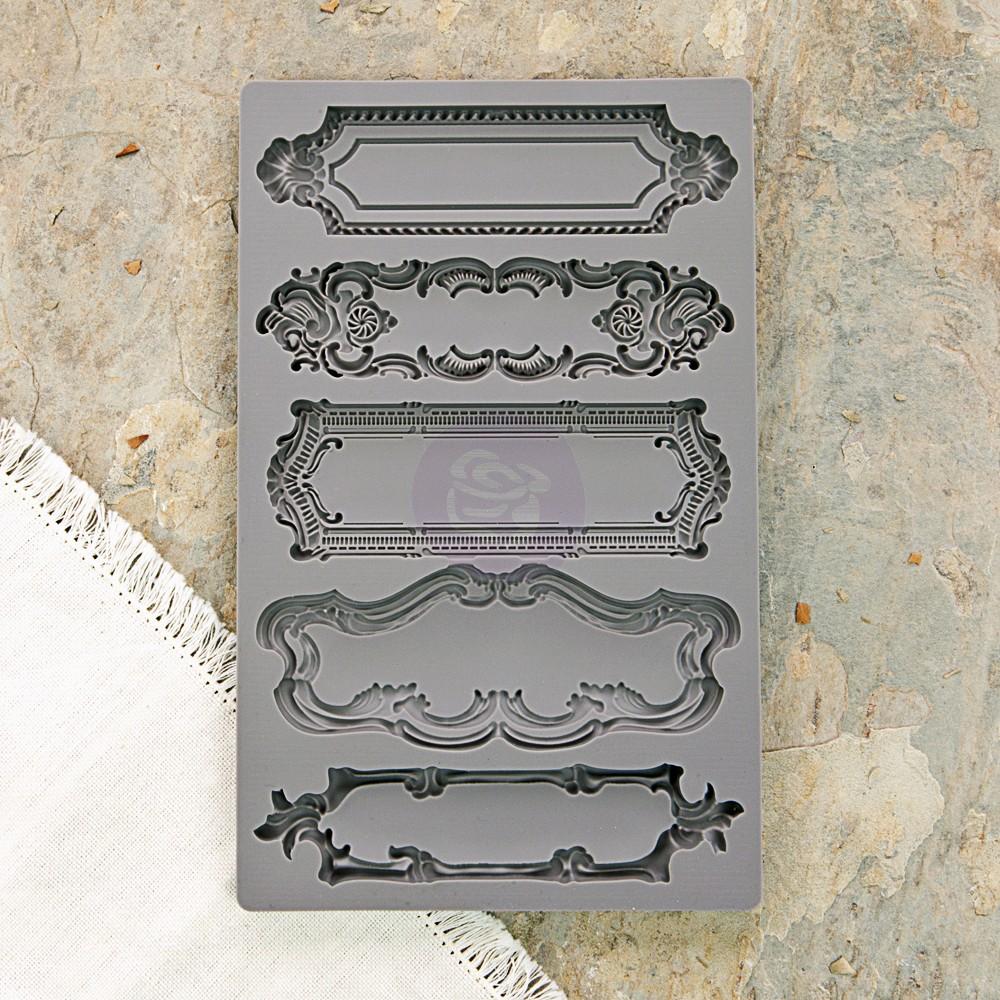 תבנית סיליקון - Iod Vintage Art Decor Moulds - Object Labels 1