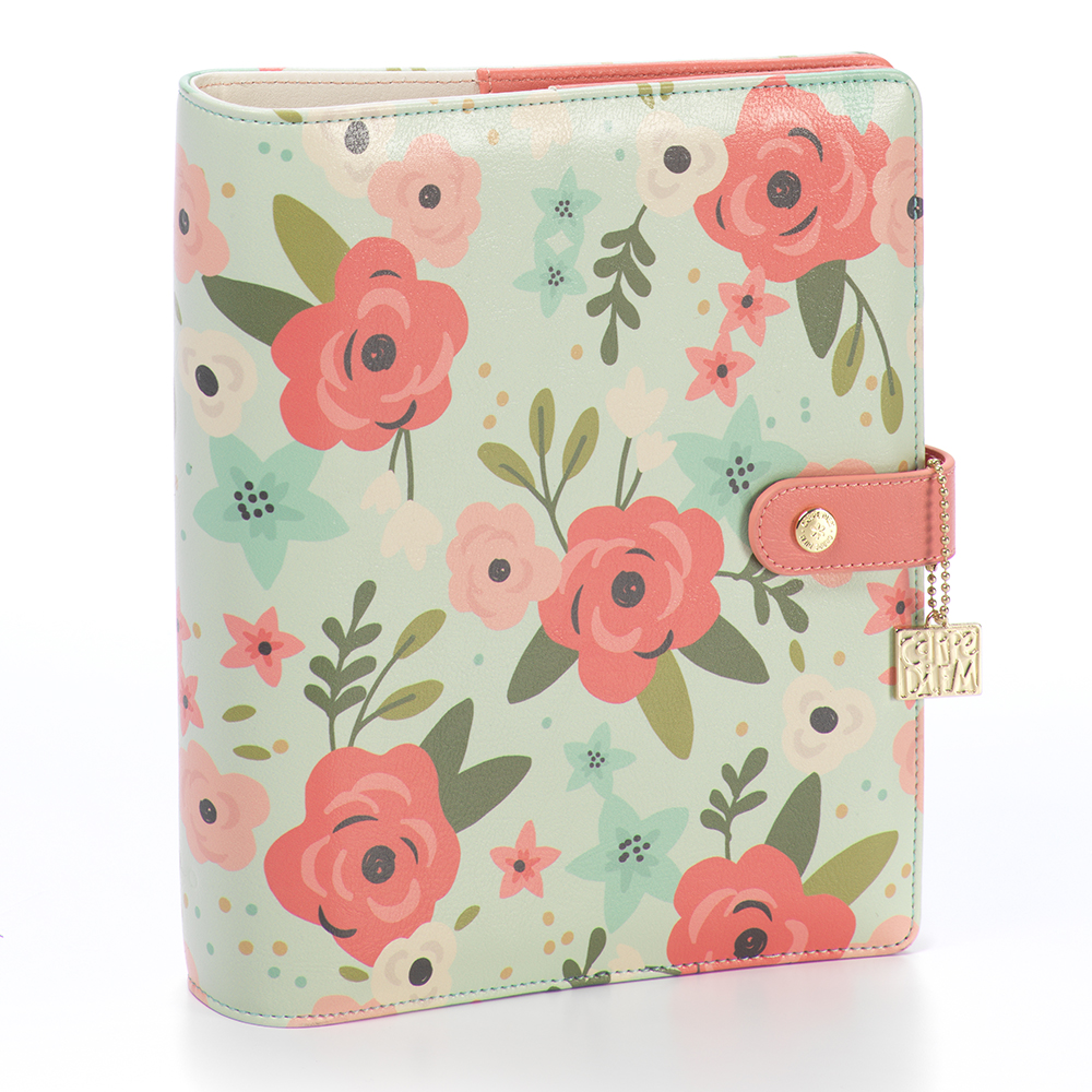 פלאנר - A5 Mint Blossom Planner