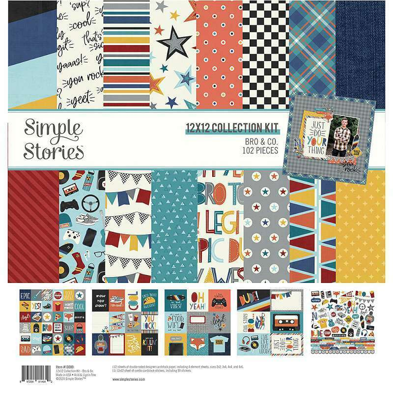 BRO & CO. 12X12 COLLECTION KIT