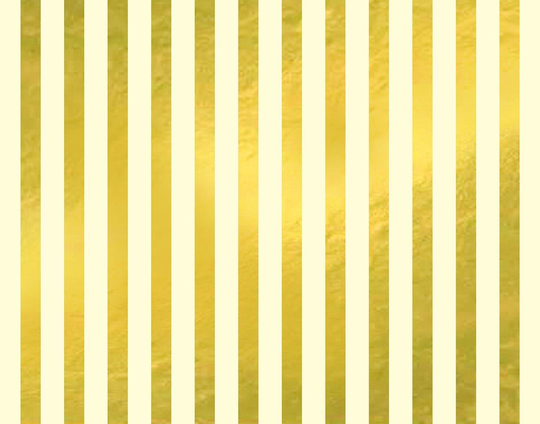 Designer Poster Board - Gold Stripes