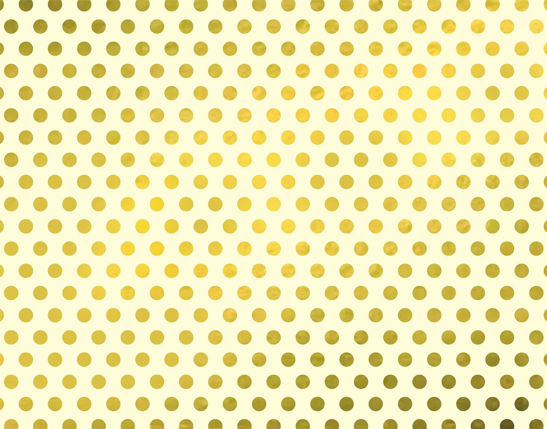 Designer Poster Board - Gold Dots