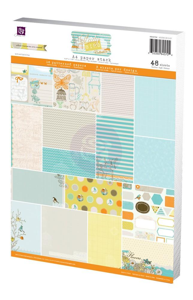 A4 Paper Pad - Lady Bird