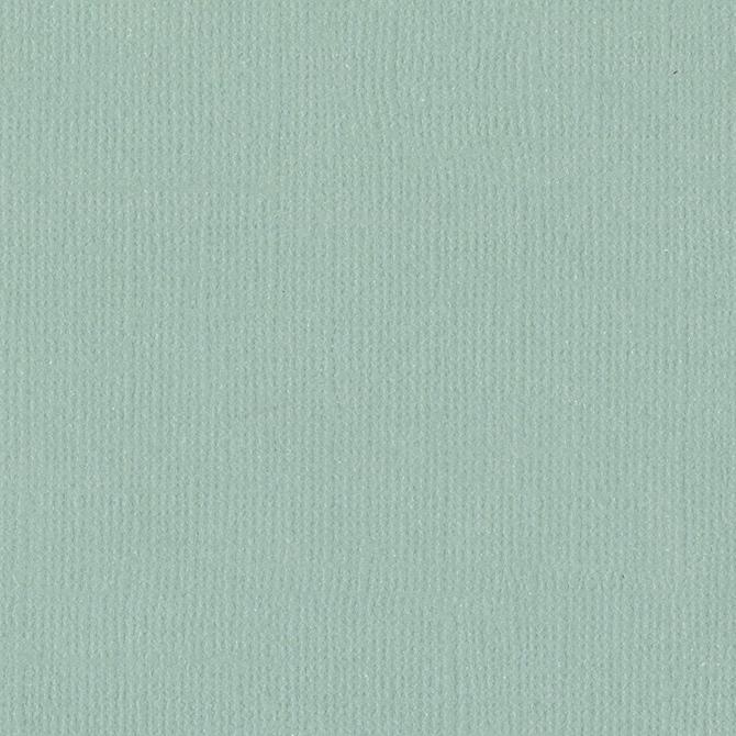"""דף קארדסטוק 12"""" 2281- Canvas Texture - Aqua"""