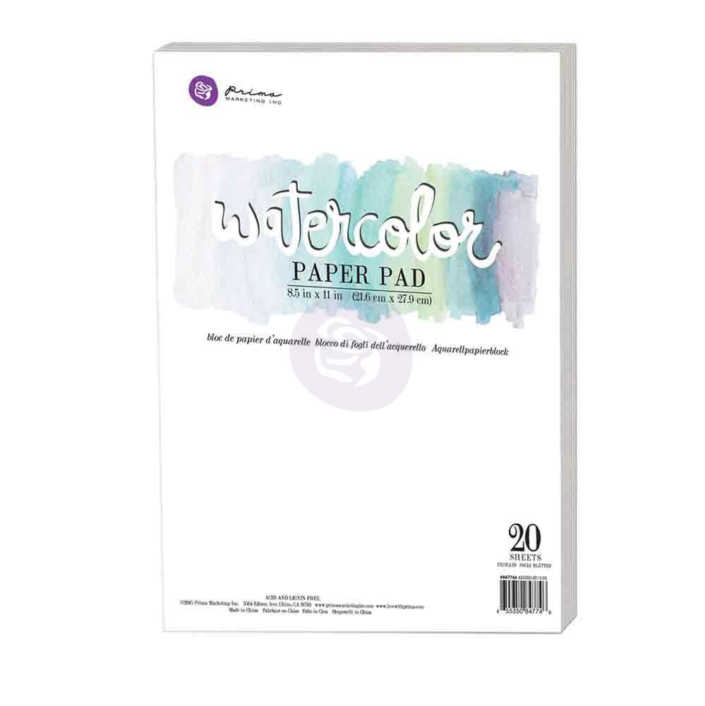 נייר לצבעי מים - Watercolor Paper Pad 20pc
