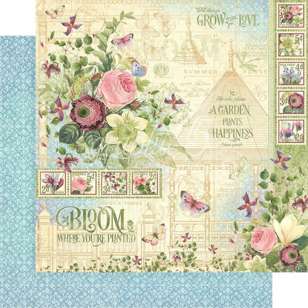 דף קארדסטוק - Bloom - Bloom