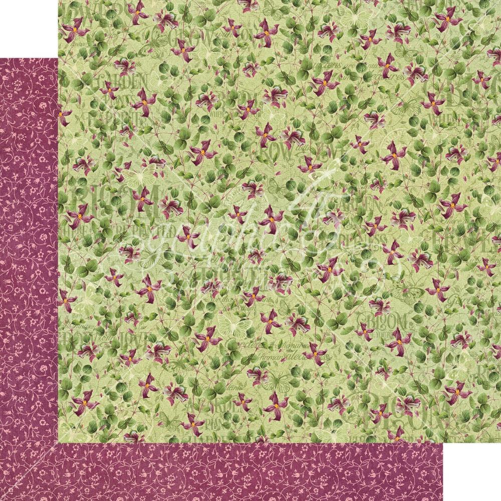 דף קארדסטוק - Bloom - Dainty Blossoms