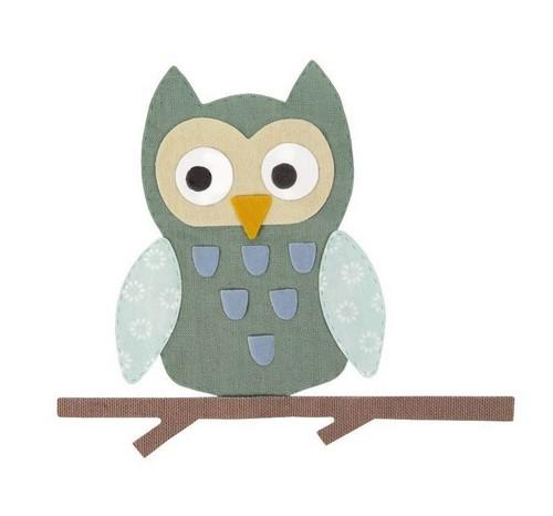 תבנית חיתוך- Bigz Die - Owl
