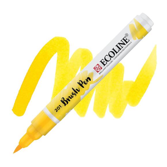 טוש - Ecoline Brushpen 201 light yellow