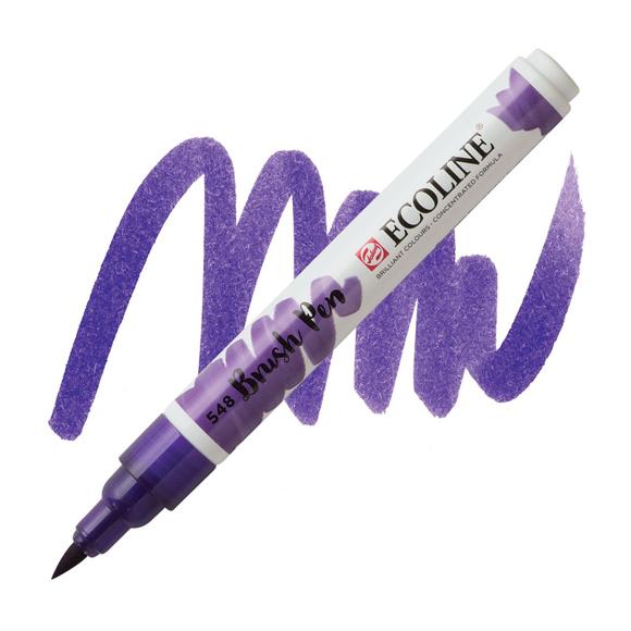 טוש - Ecoline Brushpen 548 blue violet