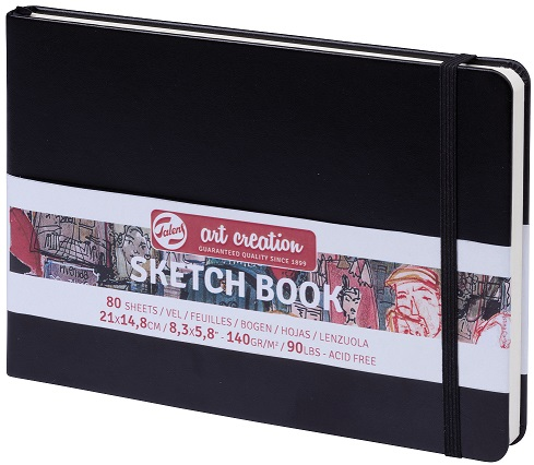 מחברת סקיצה - Talens Art Creation - Sketch Book Black