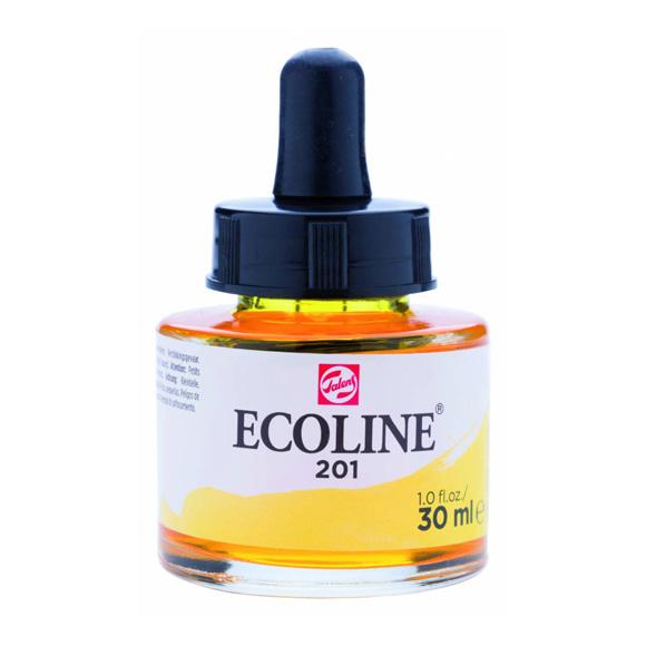 דיו נוזלי - Ecoline Ink 201 Light Yellow