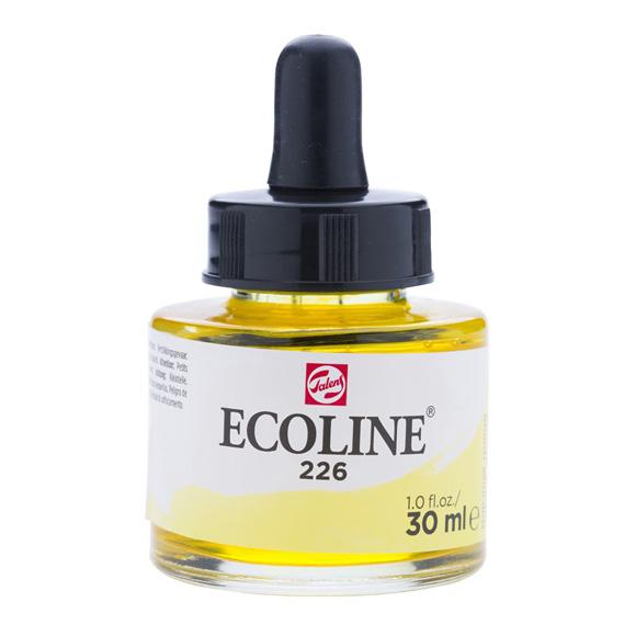 דיו נוזלי - Ecoline Ink 226 Pastel Yellow