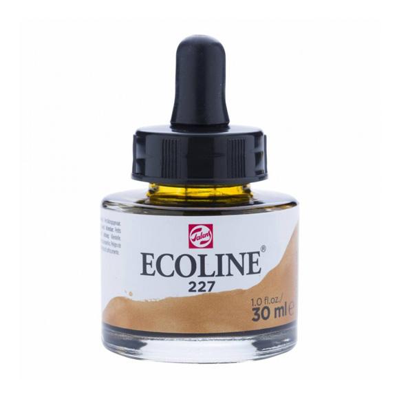 דיו נוזלי - Ecoline Ink 227 Yellow Ochre