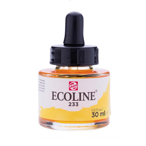 דיו נוזלי - Ecoline Ink 233 Chartreuse