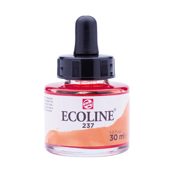 דיו נוזלי - Ecoline Ink 237 Dark Orange