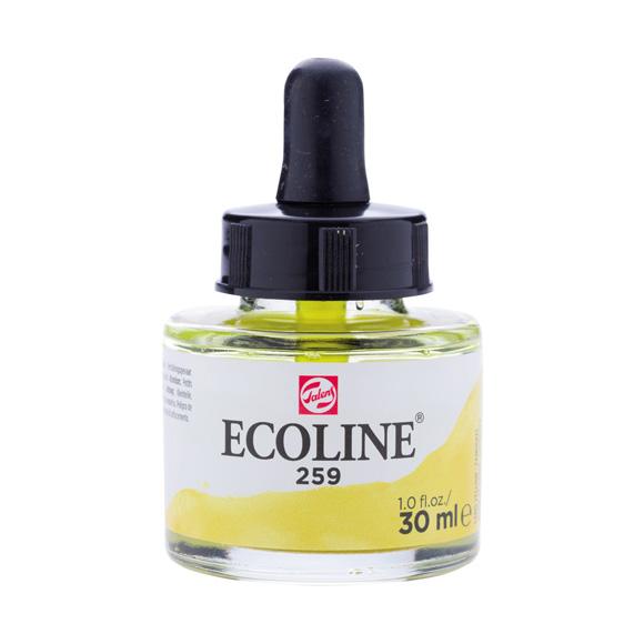 דיו נוזלי - Ecoline Ink 259 Sand Yellow