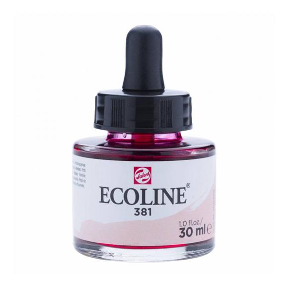 דיו נוזלי - Ecoline Ink 381 Pastel Red