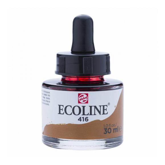דיו נוזלי - Ecoline Ink 416 Sepia