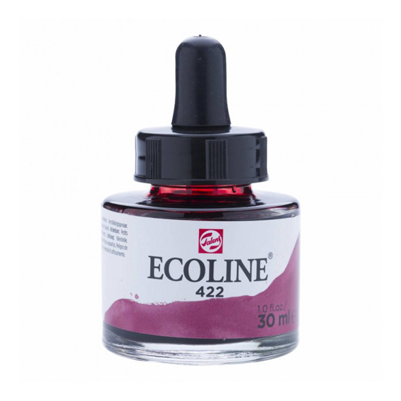 דיו נוזלי - Ecoline Ink 422 Red Brown