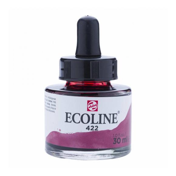 דיו נוזלי - Ecoline Ink 422 Red Brown
