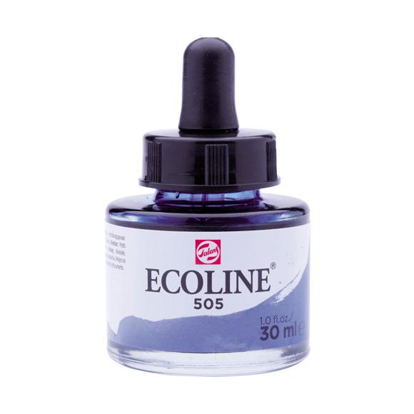 דיו נוזלי - Ecoline Ink 505 Ultramarine Light