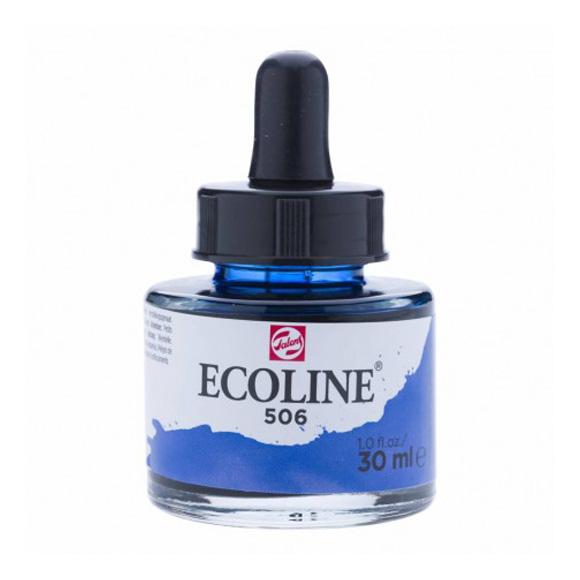 דיו נוזלי - Ecoline Ink 506 Ultramarine Deep