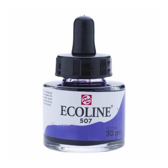 דיו נוזלי - Ecoline Ink 507 Ultramarine Violet