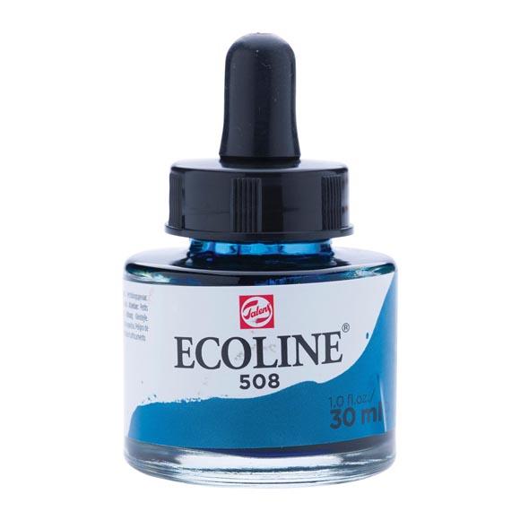 דיו נוזלי - Ecoline Ink 508 Prussian Blue