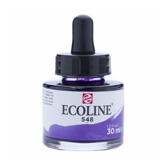 דיו נוזלי - Ecoline Ink 548 Blue Violet