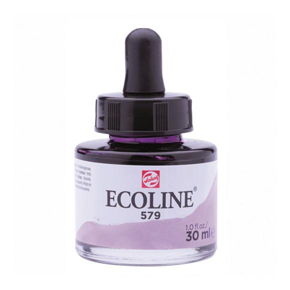 דיו נוזלי - Ecoline Ink 579 Pastel Violet