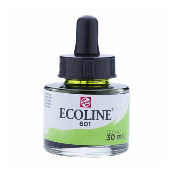 דיו נוזלי - Ecoline Ink 601 Light Green