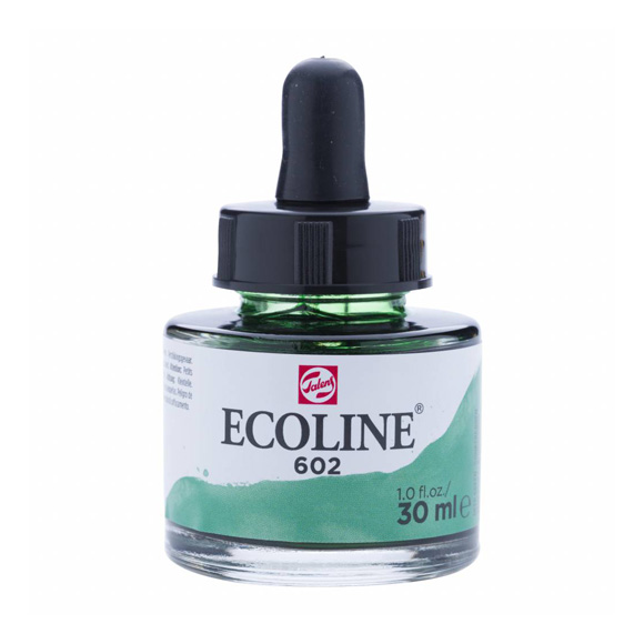 דיו נוזלי - Ecoline Ink 602 Deep Green