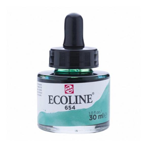 דיו נוזלי - Ecoline Ink 654 Fir Green