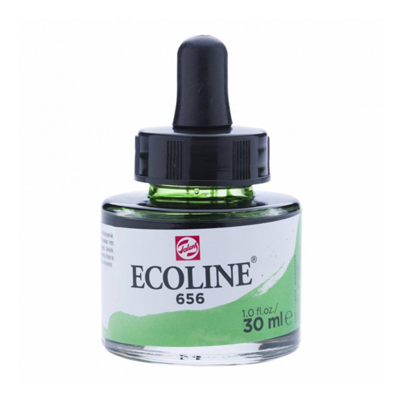דיו נוזלי - Ecoline Ink 656 Forest Green