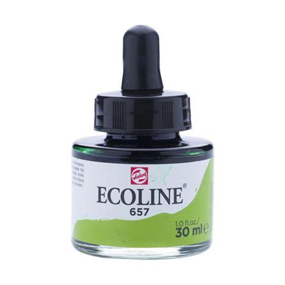 דיו נוזלי - Ecoline Ink 657 Bronze Green