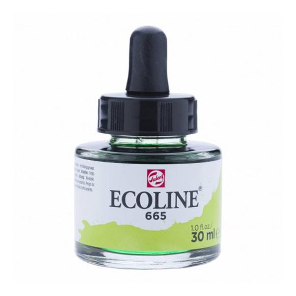 דיו נוזלי - Ecoline Ink 665 Spring Green