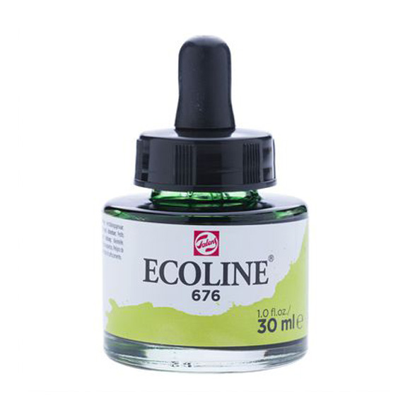 דיו נוזלי - Ecoline Ink 676 Grass Green