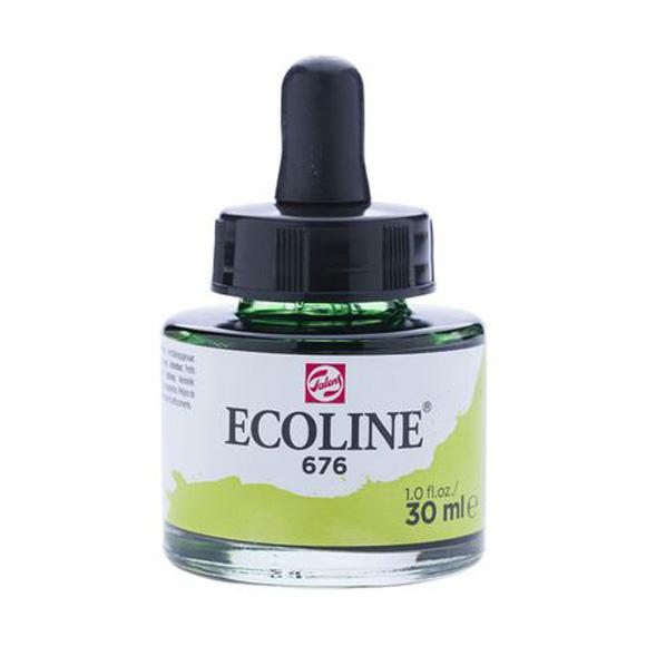 דיו נוזלי - Ecoline Ink 676 Grass Green