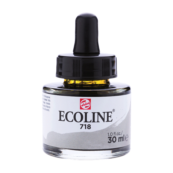 דיו נוזלי - Ecoline Ink 718 Warm Grey