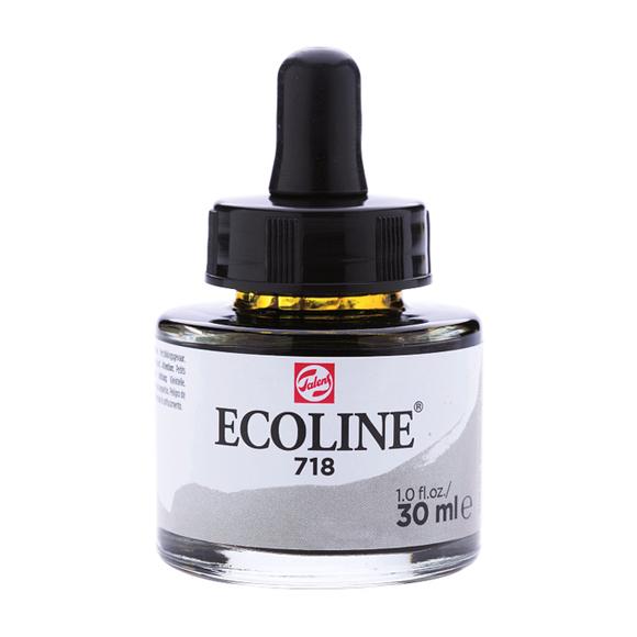 דיו נוזלי - Ecoline Ink 718 Warm Grey