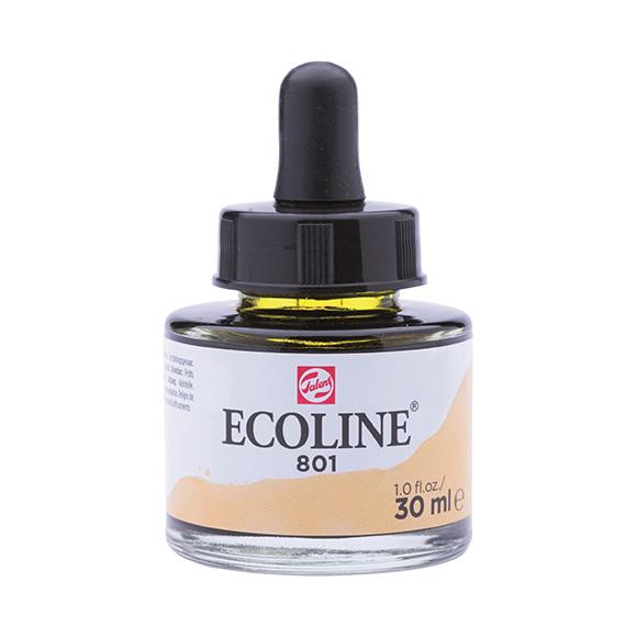 דיו נוזלי - Ecoline Ink 801 Gold