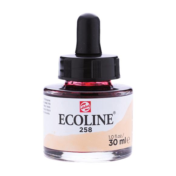 דיו נוזלי - Ecoline Ink 258 Apricot