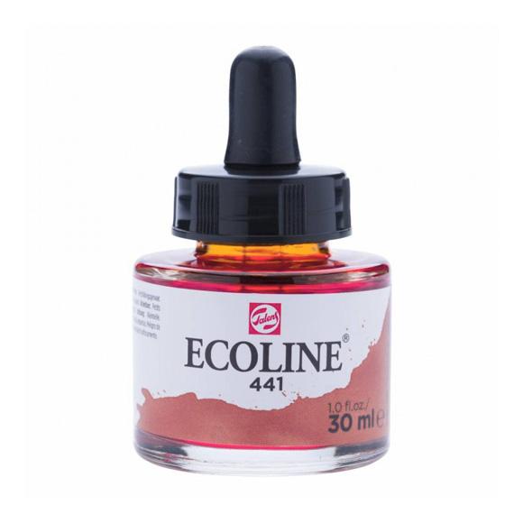 דיו נוזלי - Ecoline Ink 441 Mahogany