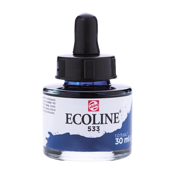 דיו נוזלי - Ecoline Ink 533 Indigo