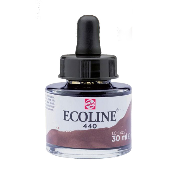 דיו נוזלי - Ecoline Ink 440 Sepia Deep