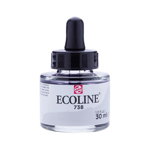 דיו נוזלי - Ecoline Ink 738 Cold Gray Light