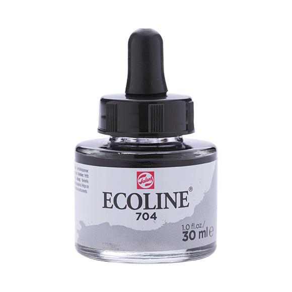 דיו נוזלי - Ecoline Ink 704 Grey